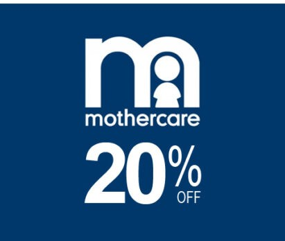 20% Off on any Mothercare Products