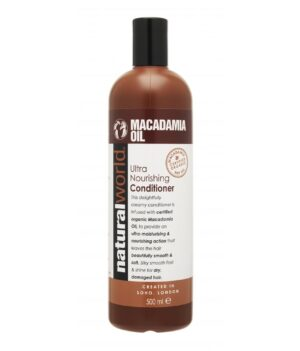 Natural World Macadamia Oil Nourishing Conditioner 500ml