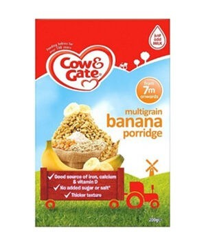 Cow & Gate - Multigrain Banana Porridge