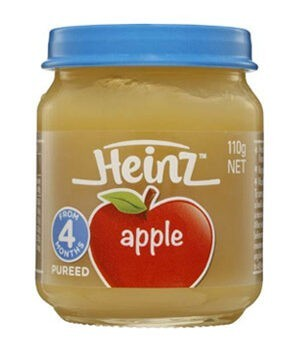 Heinz Pureed Food - Apple