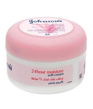 Johnson's 24hour Moisture Soft Cream - 200ml