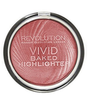 Makeup Revolution Vivid Baked Highlighter – Rose Gold Lights