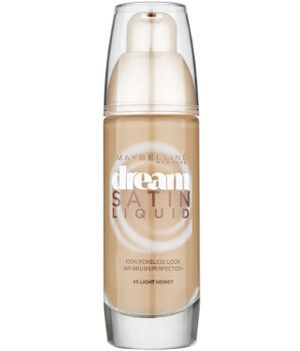 Maybelline Dream Satin Foundation 45 Light Honey
