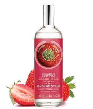 The Body Shop Strawberry Body Mist - 100ml