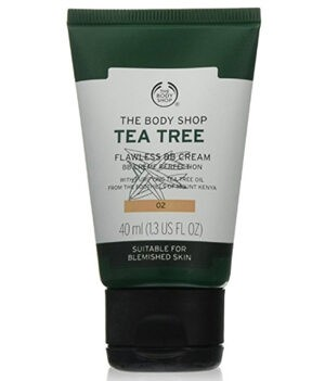 The Body Shop Tea Tree Flawless BB Cream - 02 Medium