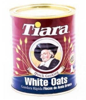Tiara White Oats Tin - 500g