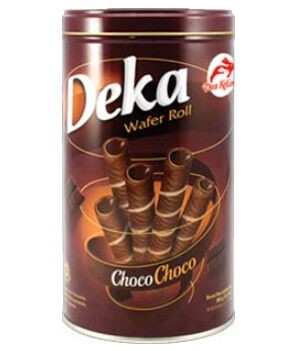 Deka Wafer Roll Choco Choco 360g