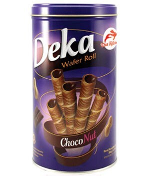 Deka Wafer Roll Choco Nut 360g