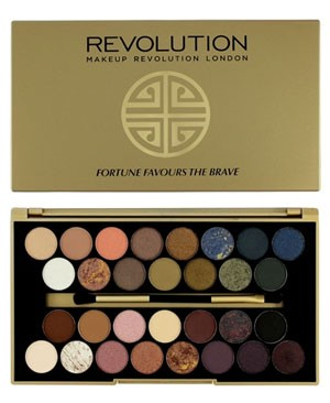 Makeup Revolution Fortune Favours The Brave with Britishbeautyblogger