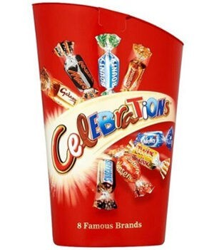 Mars Celebrations Chocolate Candy