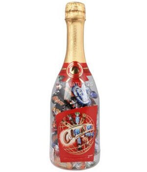 Mars Celebrations Chocolate Candy in Champagne Bottle