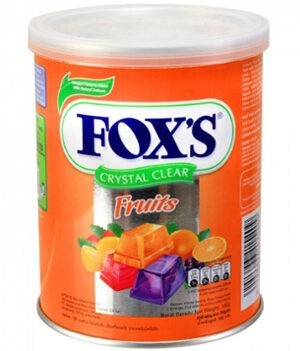 Nestle Fox's Crystal Clear Mix Fruits Candy