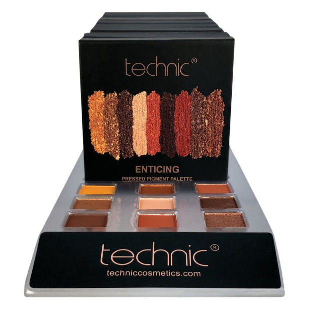 TECHNIC ENTICING PRESSED PIGMENTS EYESHADOW PALETTE
