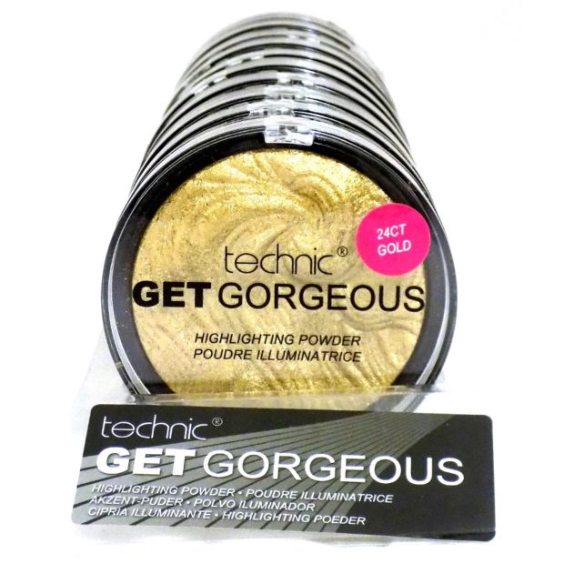 TECHNIC GET GORGEOUS HIGHLIGHTING POWDER - GOLD