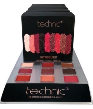 TECHNIC INTRIGUED PRESSED PIGMENTS EYESHADOW PALETTE