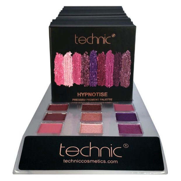TECHNIC PRESSED PIGMENTS EYESHADOW PALETTE - HYPNOTISE