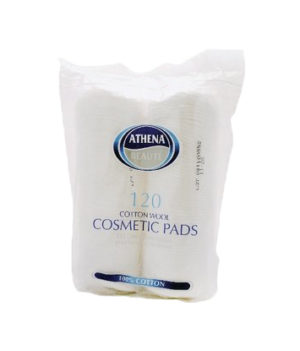 Athena Beaute Cotton Wool Cosmetic Pads 120 (2 Pack)