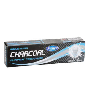 Beauty Formulas Active Charcoal Fluoride Toothpaste 125ml