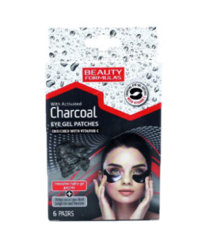 Beauty Formulas Charcoal Eye Gel Patches -6 Pairs