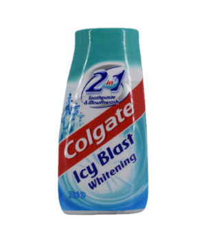 Colgate Icy Blast Whitening 2in1 Toothpaste & Mouthwash 100ml
