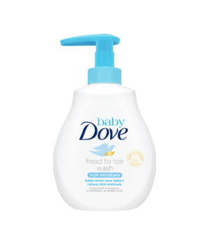 Dove Baby Rich Moisture Head To Toe Wash 200ml