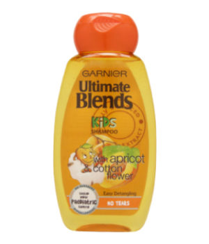 Garnier Ultimate Blends Kids 2in1 Shampoo Apricot Cotton Flower 250ml