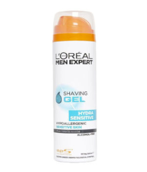 L'Oreal Men Expert Hydra Sensitive Shaving Gel 200ml