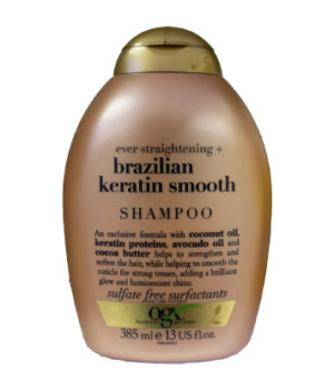 OGX Ever Straightening + Brazilian Keratin Smooth Shampoo 385ml