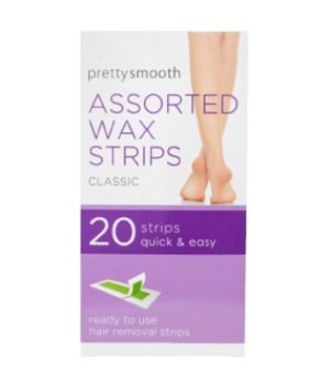 Pretty Smooth Assorted wax strips – 20 Strips