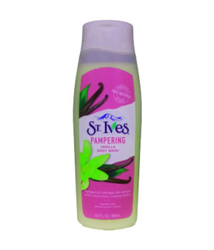 St.Ives Pampering Vanilla Body Wash 400ml