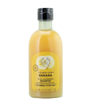 The Body Shop Banana Truly Nourishing Shampoo 400ml