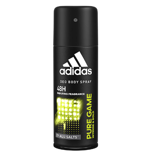Adidas Pure Game 48H Deodorant Body Spray - 150ml