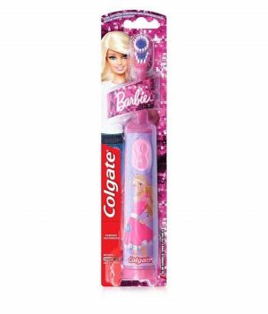 Colgate Battery Power Barbie Toothbrush for Kids