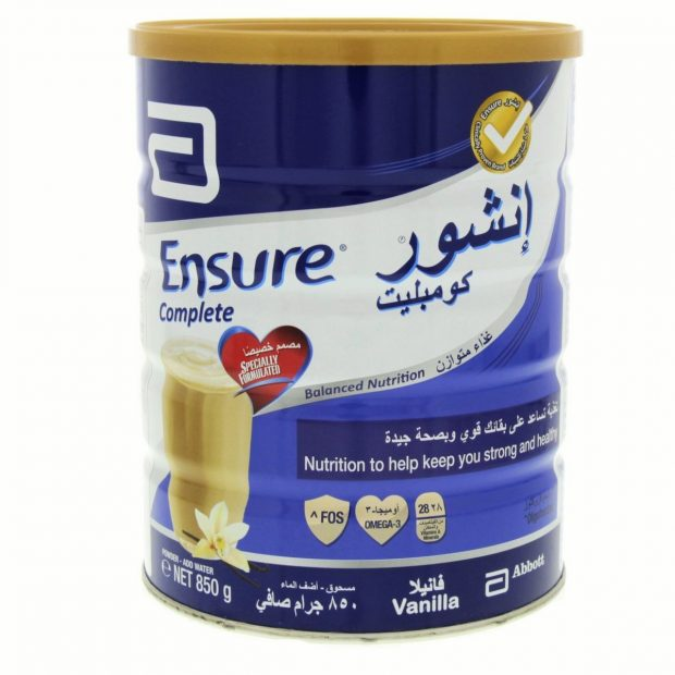 Ensure Vanilla Flavor Milk Powder 850gm