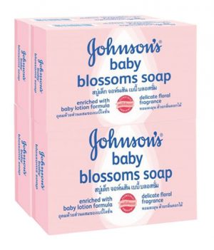 Johnson's Baby Blossoms Soap pack 4