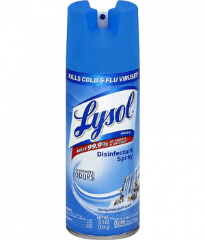 Lysol Disinfectant Spray, Spring Waterfall Scent