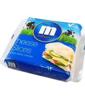 Melbourne Sandwich Sliced Cheese - 12 slices