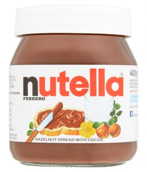 Nutella Ferrero Hazelnut Spread with Cocoa - 400gm