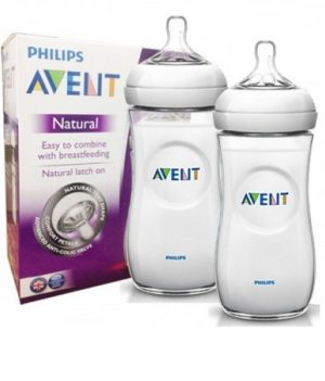Philips Avent Natural Bottles - 330ml (Twin Pack)