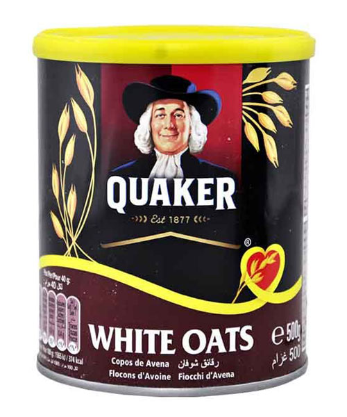 Quaker White Oats 500gm