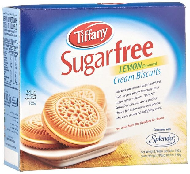 Tiffany Biscuit Sugar Free Lemon, 162gm