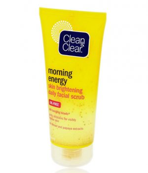 Clean and Clear Morning Energy Skin Brightening Daily Facial Scrub