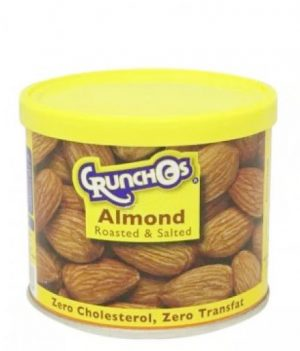 Crunchos Almond Roasted and Salted 100gm