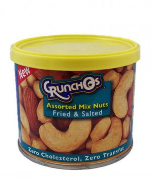 Crunchos Assorted Mix Nuts Fried and Salted 100gm
