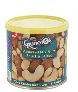 Crunchos Assorted Mix Nuts Fried and Salted 200gm