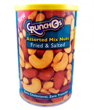 Crunchos Assorted Mix Nuts Fried and Salted 350g