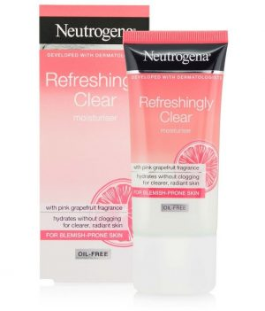 Neutrogena Refreshingly Clear Oil Free Moisturiser 50ml